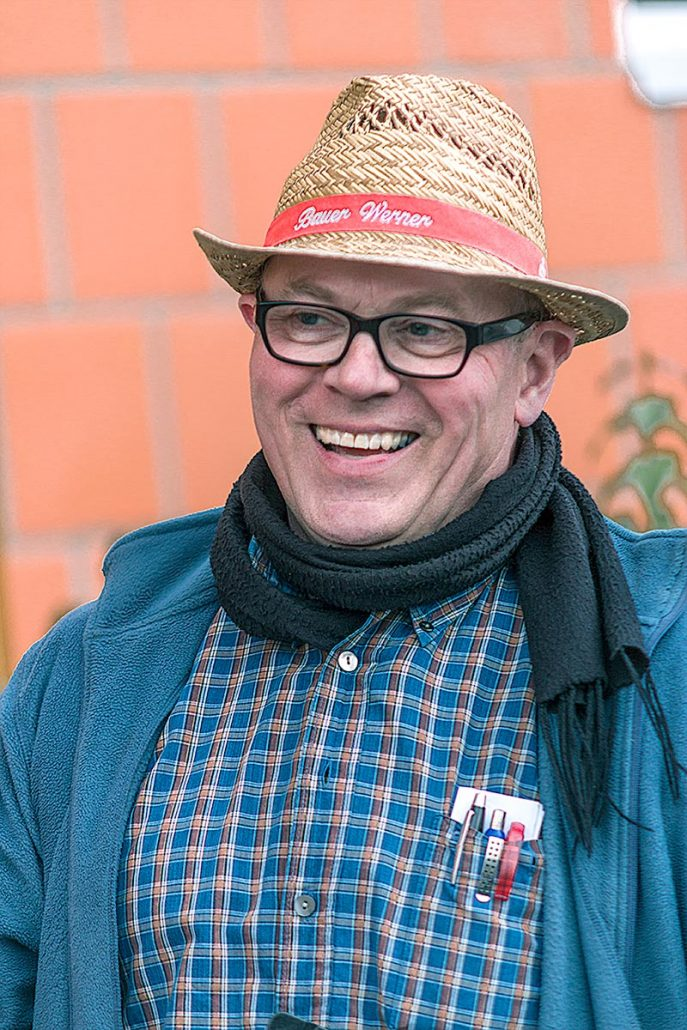Bauer Werner bei der Bauernolympiade Münster am Kappenberger Damm 340